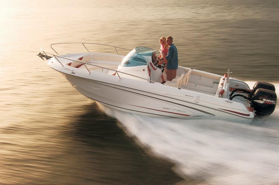 Photo du bateau à moteur BENETEAU Flyer 750 Open
