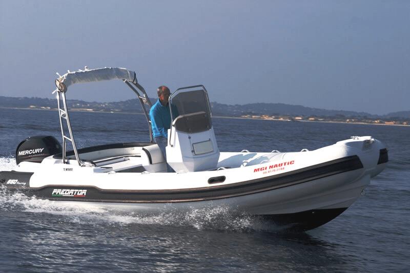 Photo du bateau à moteur ITALBOATS PREDATOR 650 TS
