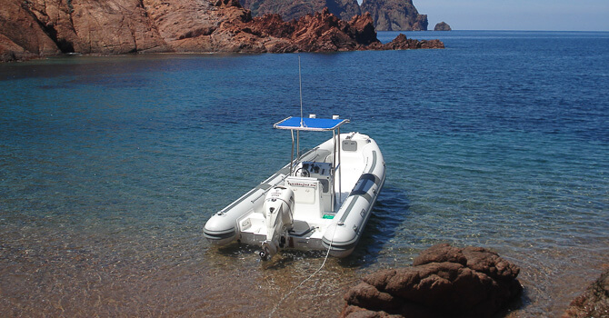 promenade bateau ile rousse