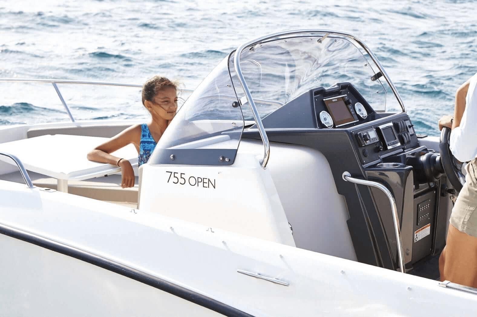 Photo du bateau à moteur QUICKSILVER ACTIV 755 OPEN
